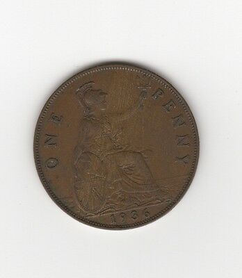 UK / Great Britain 1936, 1 Penny
