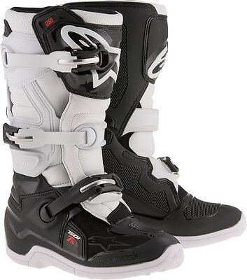 Alpinestars 2015017-12-6 Tech 7S Boots Black/white Sz 6