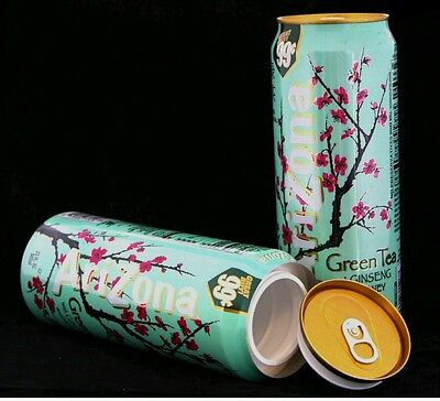 Arizona Green Tea Diversion Safe Can Stash On Road Police Authority Hide Robbery