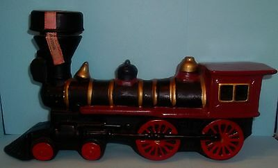 1969 McCormick Train Locomotive Decanter Commemorative Edition-Empty