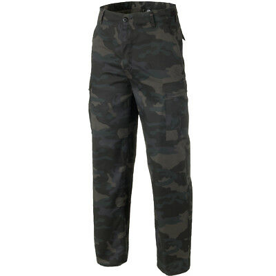 Brandit US Ranger Army Patrol Combats Hunting Trousers Hiking Pants Dark Camo