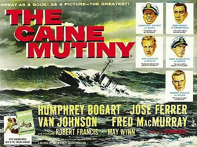 "The Caine Mutiny 16"" x 12"" Reproduction Movie Poster Photograph"