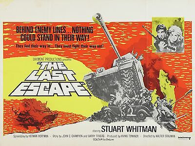 "The Last Escape 16"" x 12"" Reproduction Movie Poster Photograph"
