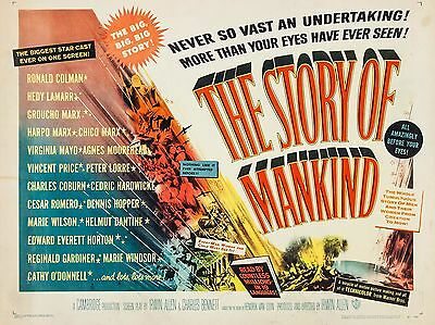 "The Story of Mankind 16"" x 12"" Reproduction Movie Poster Photograph"