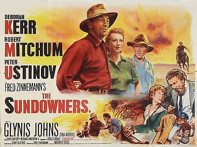 "The Sundowners 16"" x 12"" Reproduction Movie Poster Photograph"