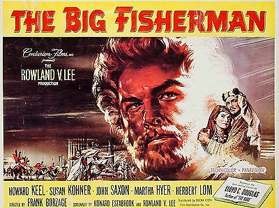 "The Big Fisherman 16"" x 12"" Reproduction Movie Poster Photograph"