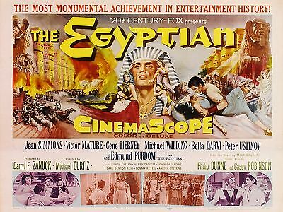 "The Egyptian 16"" x 12"" Reproduction Movie Poster Photograph"