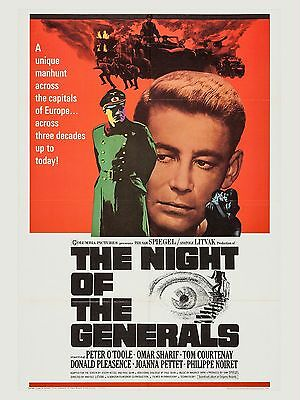 "The Night of the Generals 16"" x 12"" Reproduction Movie Poster Photograph"