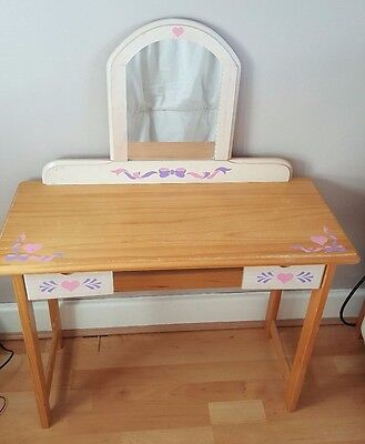 Children's Dressing Table with Mirror