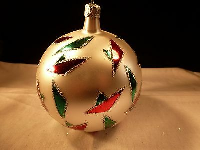 Rare Early Christopher Radko Christmas Ornament Memphis Gorgeous 2Nd Year