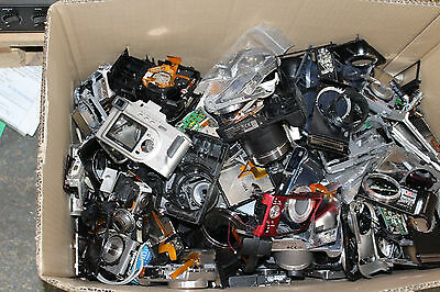 Massive lot of branded camera spares, incomplete units, etc Canon, Sony, Nikon,