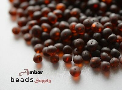 Raw Baltic amber beads for jewelry making 6-8 mm 50 grams Baroque amber style