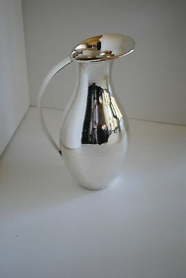 Mid Century Mexico Sterling Silver Water Pitcher by Juvento Lopez Reyes 1950