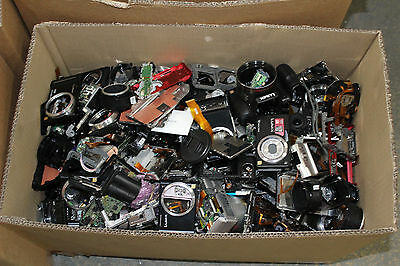 Very large Job lot of branded camera spares, incomplete units, parts, etc