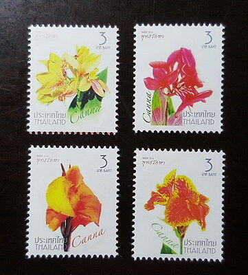 Thailand Stamp 2016 New Year 2017 Series 1st - Canna