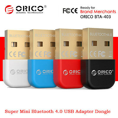 ORICO BTA-403 Mini Wireless USB Bluetooth 4.0 Adapter Dongle Receiver Win 7/8/10