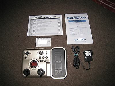 Zoom G1XNext guitar effects pedal