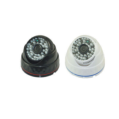 1000TVL White CCTV 2.8MM Wide Range LENS 48LED IR-CUT D/N CCTV Dome Camera