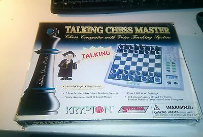 Krypton Talking Chess Master. Electronic Chess Instruction Machine.