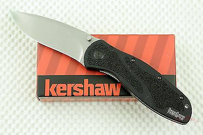 * 1670S30V KERSHAW BLUR ASSISTED opening Pocket Knife plain edge USA NEW in BOX