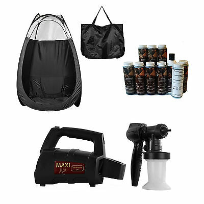 Maximist Spraymate Tnt Sunless Hvlp Unit W Free Tampa Bay Tan Spray And Blk Tent