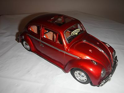 Vintage Volkswagen Tin Friction Drive Made In Japan