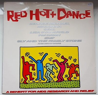 Madonna - George Michael - Seal - Stansfield - Red Hot + Dance Spanish 2 X Vinyl