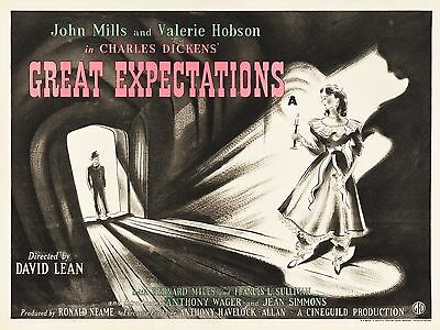 """Great Expectations 16"""" x 12"""" Reproduction Movie Poster Photograph"""
