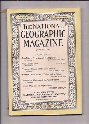 national geographic-JAN 1921-EVERY-DAY LIFE IN AFGHANISTAN.