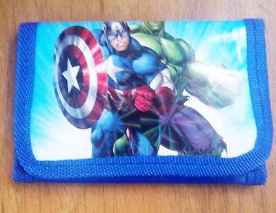 Marvel's The Avengers kids boy's Coin Money Pouch Bags Purse Wallet Xmas Gift