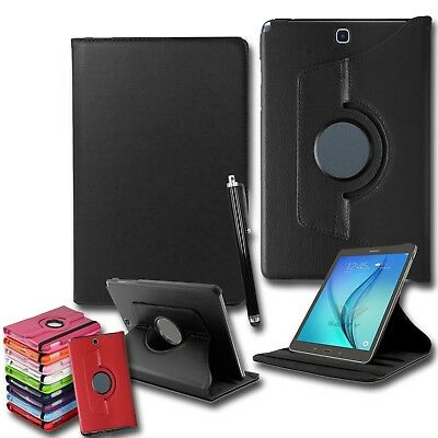 """Leather 360° Rotation Smart Stand Case Cover Samsung Galaxy Tab A 7"""" inch - T280"""