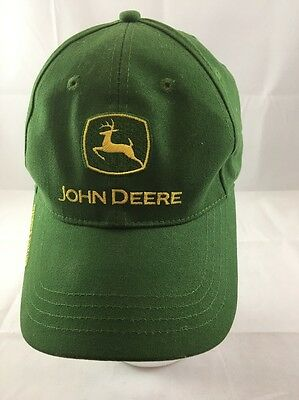 John Deere Owners Edition Cap Hat Green Embroidered Adjustable 100% Cotton