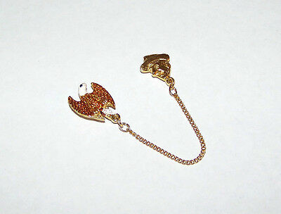 Gold Tone & Enamel Fraternal Order Of Eagles Jimmy Durante Childrens Fund Pin
