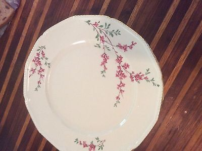 """EXCELLENT CONDITION Set of 8 Royal Bayreuth Antique Dinner Plates - 10.5"""""""