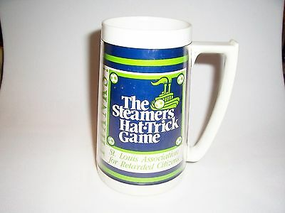 Budweiser St Louis Steamers Hat Trick Game Thermo Mug