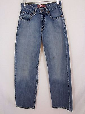 Boys Levi's 550 Relaxed Fit Denim Jeans - Size 16 Slim 26 x 28
