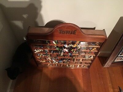 Yowie Cabinet Full Of Series 1,2&3 Toques