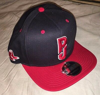 PEARL JAM - X New Era Snap Back - Boston Fenway Red Sox style HAT - 8/5 8/7 2016