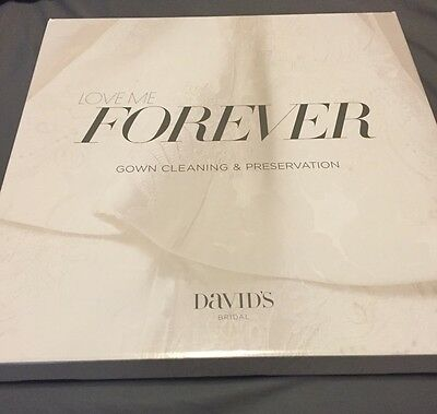 David's Bridal Forever Box (Wedding Dress/Gown Cleaning and Preservation Kit)