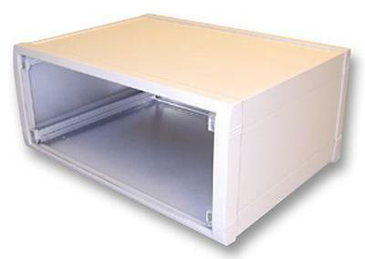 "Enclosures & 19"" Cabinet Racks - Enclosures - CASE ALUMINIUM 150X350X263MM"