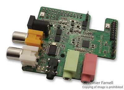 MCU/MPU/DSC/DSP/FPGA Development Kits - AUDIO CARD FOR USE WITH RASPBERRY PI