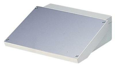 "Enclosures & 19"" Cabinet Racks - Enclosures - CASE ABS/ALUMINIUM SLOPING L"
