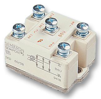 Diodes - Bridge Rectifiers - BRIDGE RECTIFIER 60A 800V 3PH