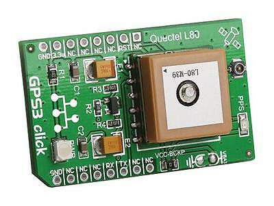 MCU/MPU/DSC/DSP/FPGA Development Kits - ADD-ON BOARD GPS3 CLICK