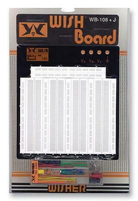 PCB - Prototyping Boards & Breadboards - BREAD BOARD WB-108+J