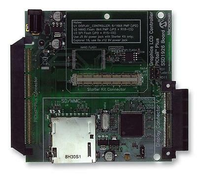 MCU/MPU/DSC/DSP/FPGA Development Kits - ADD-ON BRD GRAPHICS CTLR EXP16 + PIC32