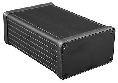 "Enclosures & 19"" Cabinet Racks - Enclosures - BOX BLACK ALUMINIUM END PLATE"