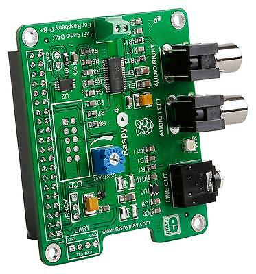 MCU/MPU/DSC/DSP/FPGA Development Kits - ADD-ON BOARD RASPYPLAY4