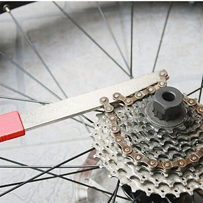 Bicycle Cassette Freewheel Remover Wrench Sprocket Chain Whip Repair Tool LE