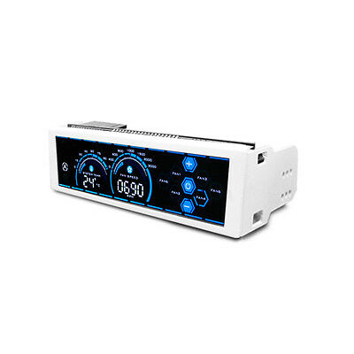 Vantec Lavish Touch Screen Fan Controller VFC-5256-WH, 6 Channels, Full Screen
